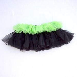 Other - Green and Black Stretch Tutu